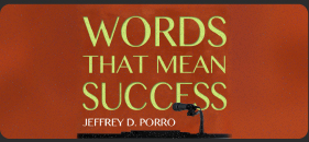Words that Mean Success